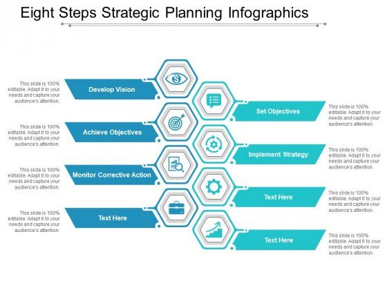 Eight Steps Strategic Planning Infographics Ppt Powerpoint Presentation Layouts Design Inspiration
