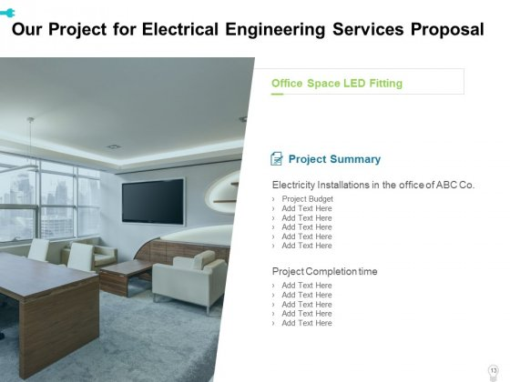 Electrical_Engineering_Services_Proposal_Ppt_PowerPoint_Presentation_Complete_Deck_With_Slides_Slide_13