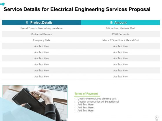 Electrical_Engineering_Services_Proposal_Ppt_PowerPoint_Presentation_Complete_Deck_With_Slides_Slide_8