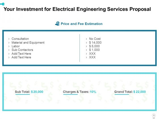 Electrical_Engineering_Services_Proposal_Ppt_PowerPoint_Presentation_Complete_Deck_With_Slides_Slide_9