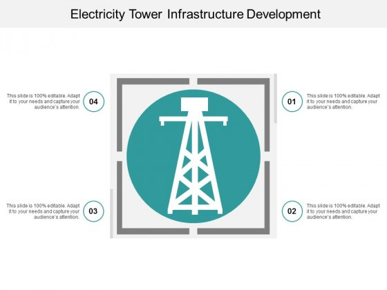 Electricity Tower Infrastructure Development Ppt PowerPoint Presentation Infographics Layouts