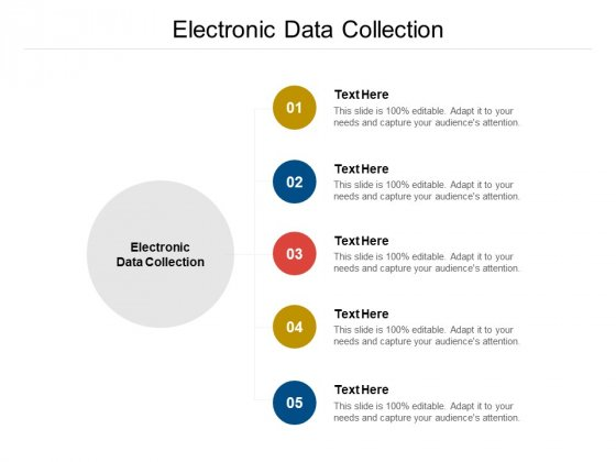 Electronic Data Collection Ppt PowerPoint Presentation Gallery Slides Cpb Pdf