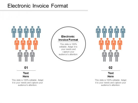 Electronic Invoice Format Ppt PowerPoint Presentation File Information Cpb