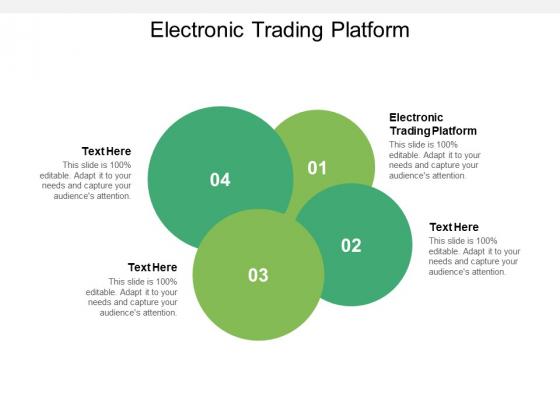 Electronic Trading Platform Ppt PowerPoint Presentation Layouts Design Inspiration Cpb Pdf