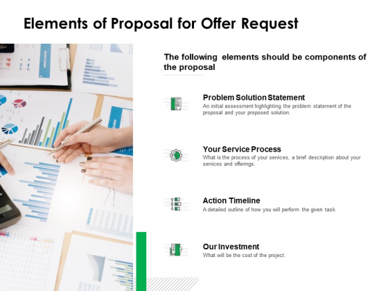 Elements Of Proposal For Offer Request Ppt Powerpoint Presentation Professional Show