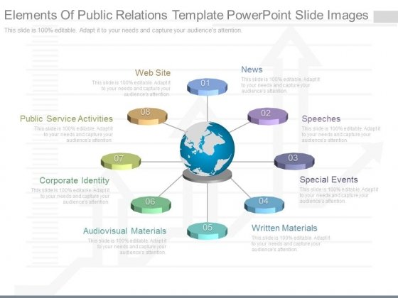 Elements Of Public Relations Template Powerpoint Slide Images