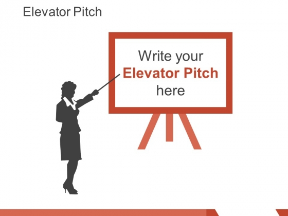 elevator pitch template 3 ppt powerpoint presentation pictures visuals