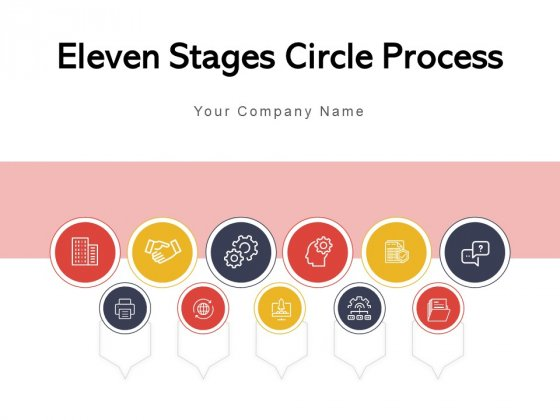 Eleven Stages Circle Process Research Management Process Ppt PowerPoint Presentation Complete Deck