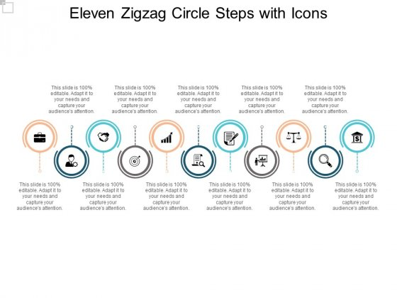 Eleven_Zigzag_Circle_Steps_With_Icons_Ppt_PowerPoint_Presentation_Icon_Clipart_Images_Slide_2