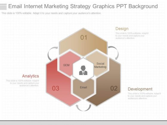 Email Internet Marketing Strategy Graphics Ppt Background