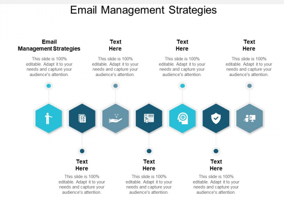 Email Management Strategies Ppt PowerPoint Presentation File Slideshow Cpb