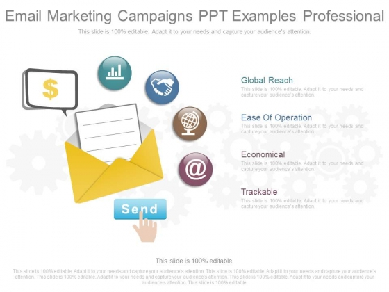 Email Marketing Campaigns Ppt Examples Professional