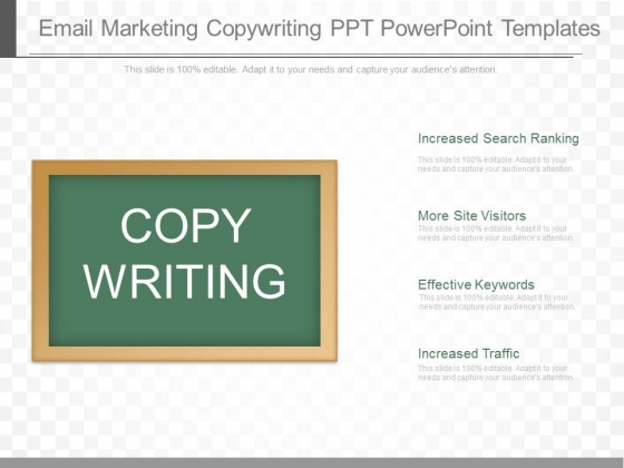 Email Marketing Copywriting Ppt Powerpoint Templates
