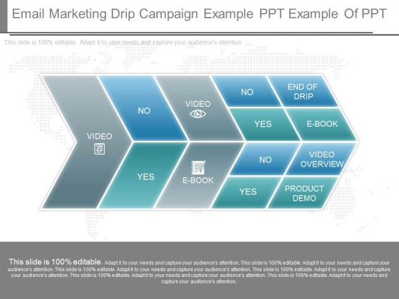 Email Marketing Drip Campaign Example Ppt Example Of Ppt