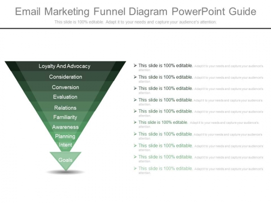 Email Marketing Funnel Diagram Powerpoint Guide