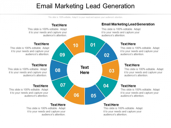 Email Marketing Lead Generation Ppt PowerPoint Presentation Slides Outfit Cpb Pdf