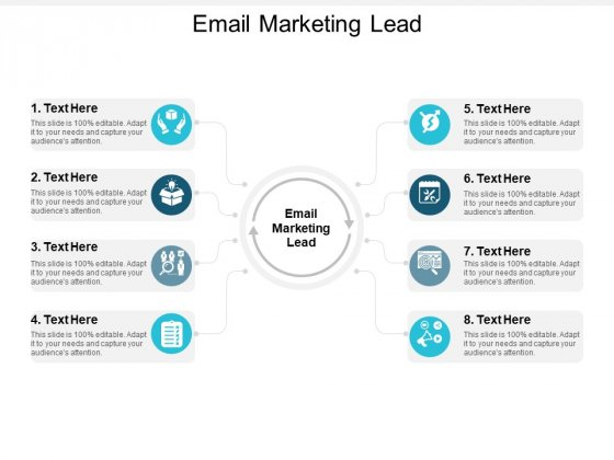 Email Marketing Lead Ppt PowerPoint Presentation Infographics Gridlines Cpb