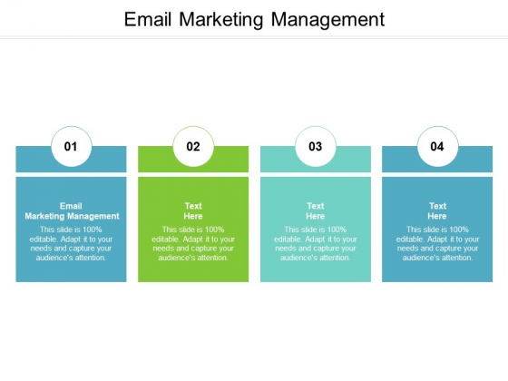 Email Marketing Management Ppt PowerPoint Presentation Inspiration Aids Cpb