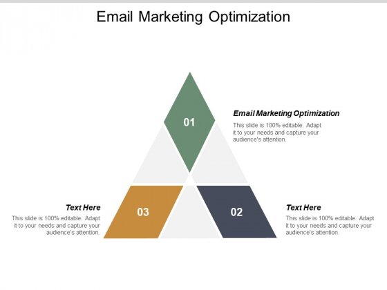 Email Marketing Optimization Ppt PowerPoint Presentation Styles Sample Cpb
