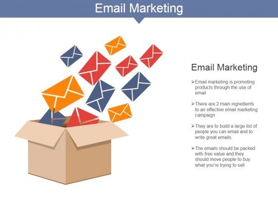 Email Marketing Ppt PowerPoint Presentation Infographics Themes