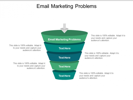 Email Marketing Problems Ppt PowerPoint Presentation Pictures Demonstration Cpb Pdf