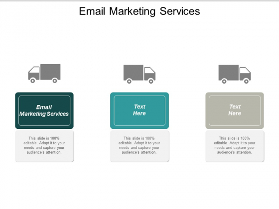 Email Marketing Services Ppt Powerpoint Presentation Icon Grid Cpb