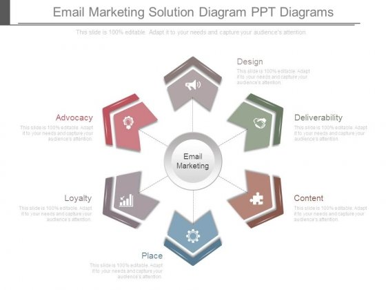 Email Marketing Solution Diagram Ppt Diagrams