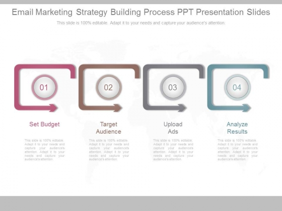 Email Marketing Strategy Building Process Ppt Presentation