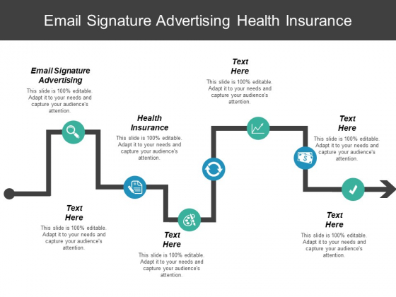 Email Signature Advertising Health Insurance Ppt PowerPoint