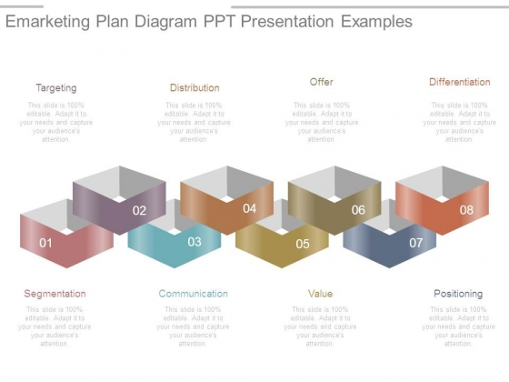emarketing plan diagram ppt presentation examples powerpoint templates