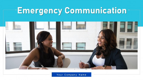 Emergency Communication Evaluation Resolution Ppt PowerPoint Presentation Complete Deck With Slides