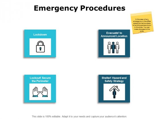 Emergency Procedures Planning Ppt PowerPoint Presentation Icon Structure