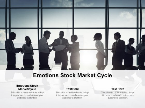 Emotions Stock Market Cycle Ppt PowerPoint Presentation Show Pictures Cpb Pdf