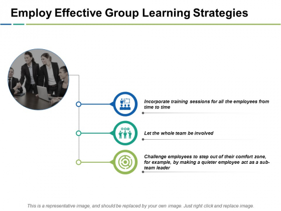 Employ Effective Group Learning Strategies Ppt PowerPoint Presentation Model Example File