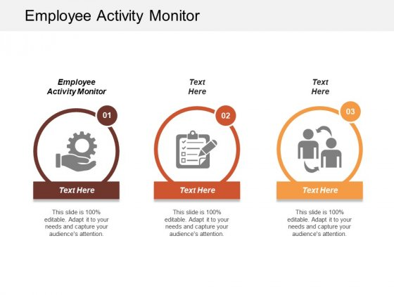 Employee Activity Monitor Ppt Powerpoint Presentation Gallery Portrait Cpb