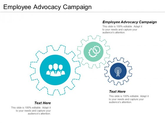 Employee Advocacy Campaign Ppt PowerPoint Presentation Outline Guidelines Cpb