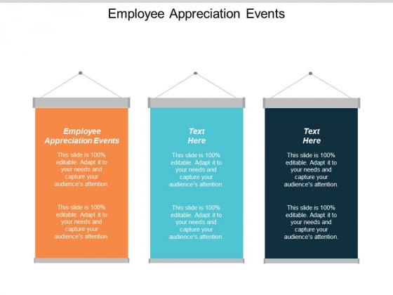 Employee Appreciation Events Ppt Powerpoint Presentation Portfolio Gallery Cpb