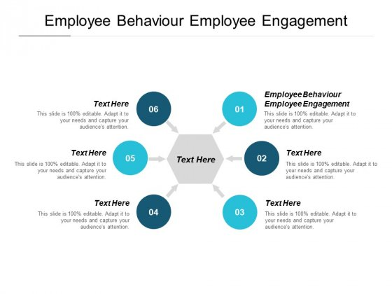 Employee Behaviour Employee Engagement Ppt PowerPoint Presentation Professional File Formats Cpb