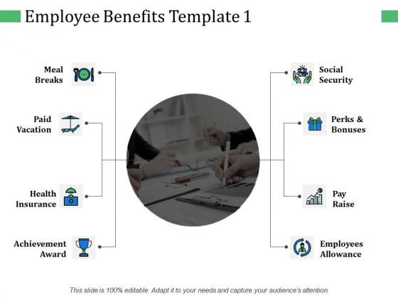 Employee Benefits Achievement Award Ppt PowerPoint Presentation Summary Slideshow