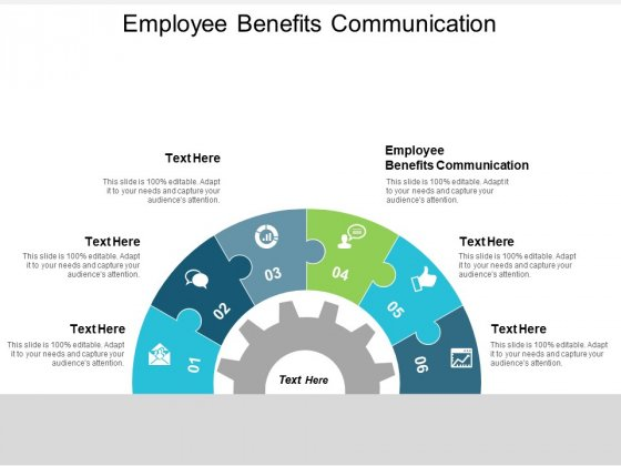 Employee Benefits Communication Ppt Powerpoint Presentation Outline Inspiration Cpb