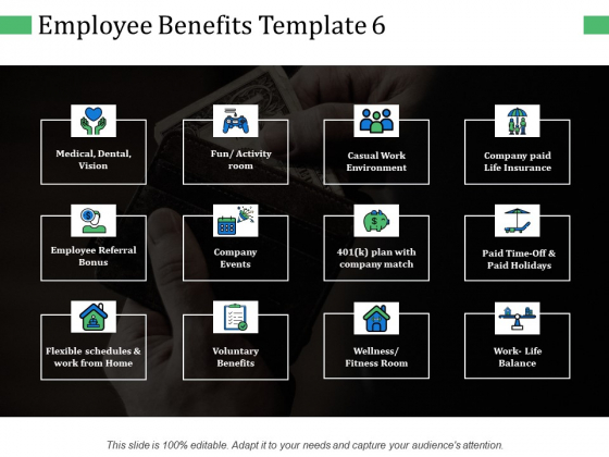 Employee Benefits Company Events Ppt PowerPoint Presentation Show Gridlines