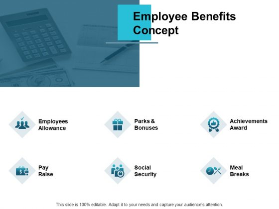 Employee Benefits Concept Employees Allowance Ppt PowerPoint Presentation Outline Clipart