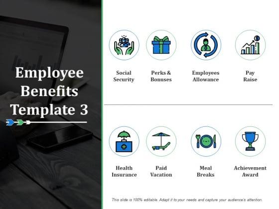 Employee Benefits Employees Allowance Ppt PowerPoint Presentation Show Graphics Template