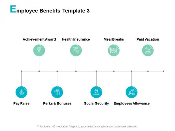 Employee Benefits Meal Breaks Ppt PowerPoint Presentation Slides Images