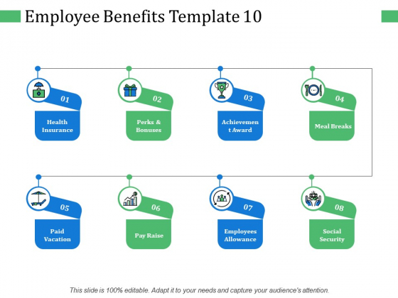 Employee Benefits Pay Raise Ppt PowerPoint Presentation Icon Mockup