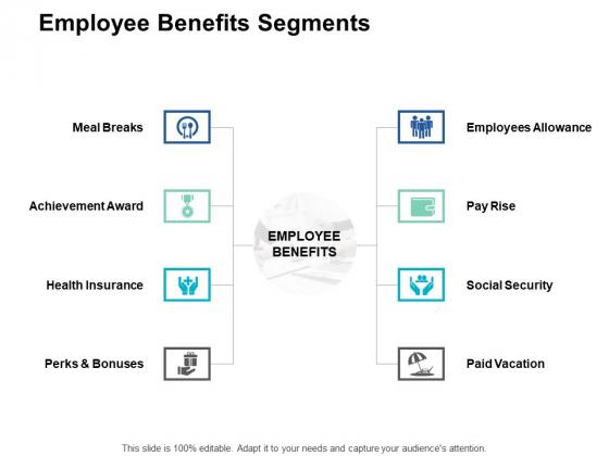 Employee Benefits Segments Achievement Award Ppt PowerPoint Presentation Gallery