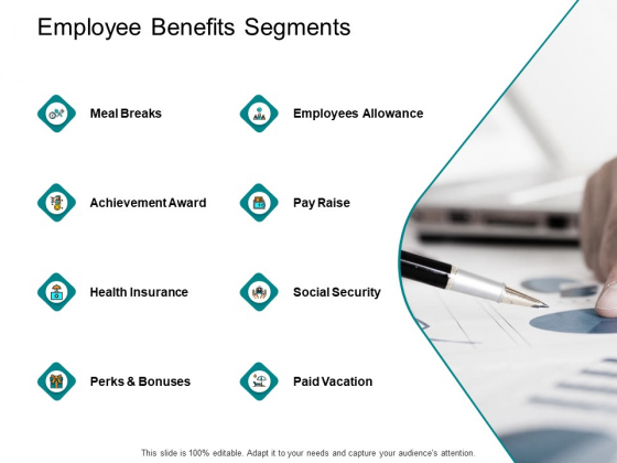Employee Benefits Segments Ppt PowerPoint Presentation File Show