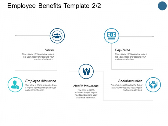 Employee Benefits Template Health Insurance Ppt Powerpoint Presentation Inspiration Diagrams Powerpoint Templates