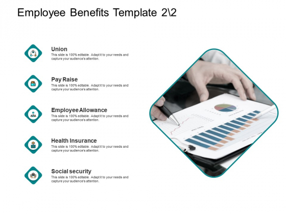 Employee Benefits Template Social Security Ppt PowerPoint Presentation Slides