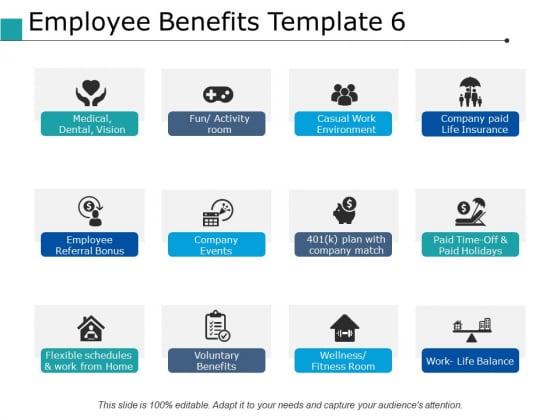 Employee Benefits Voluntary Benefits Ppt PowerPoint Presentation Icon Maker